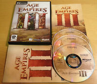 AGE OF EMPIRES III 3 for PC COMPLETE