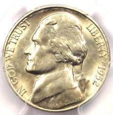 1952-S Jefferson Nickel 5C Coin - PCGS MS66 FS - Rare MS66 Grade - $750 Value!