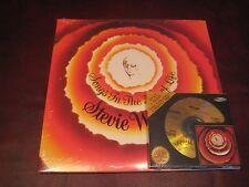 STEVIE WONDER SONGS IN THE KEY OF LIFE 24 KARAT GOLD CD & VINYL 2 LP SET&SINGLE