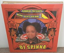 DJ SPINNA Pres HEAVY BEATS VOL 1 DBL LP OG US 1999 RAWKUS HIP HOP SEALED EMINEM