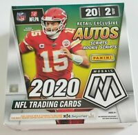 2020 PANINI MOSAIC MEGA BOX NFL FOOTBALL 🔥 SEALED RETAIL - SHIPS NOW!
