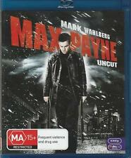 Max Payne (Blu-ray, 2009) - MARK WAHLBERG - UNCUT VERSION