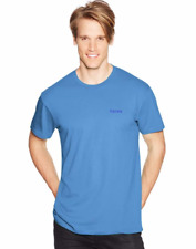 Hanes Mens Regular Top-T Cotton Tshirt Tee T-Shirt (WIth Hanes Text Logo)