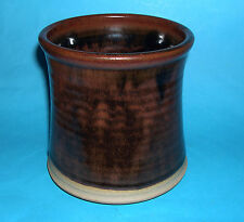Studio Pottery Ray Silverman? Detailed Three Footed Utensil Holder or Planter.