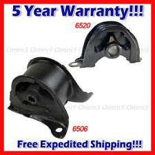 A248 Fits 1992-1993 Honda Civic 1.5L CX DX LX Front RT Lower & Rear Motor Mount