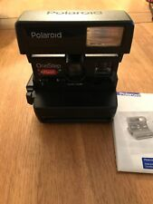 Una paso Polaroid Cámara Flash 636 Vintage Retro
