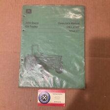 John Deere Operators Manual 820 Tractor Sealed In Original Packaging