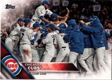 2016 CHICAGO CUBS Team Set Series 1 & 2 w/ Updates Topps 41 Cards World Champs