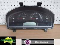 HOLDEN COMMODORE VY LEVEL 1 EXECUTIVE INSTRUMENT CLUSTERS (JC)