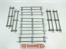 bk329-1 #10x MÄRKLIN escala 0 Vía / piezas de Vía Recto (26 cm) PARA