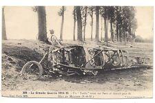 la grande guerre  un taube venu sur paris  et détruit prés de may en multien