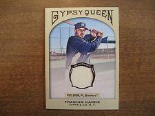 2011 Gypsy Queen Prince Fielder Relic Jersey #GQR-PF Brewers