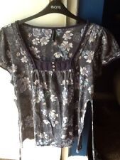 Marks and Spencer Floral Polyester Square Neck Women's Tops & Shirts