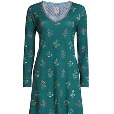 PiP Studio Dana Wonderland Nightdress long sleeve Forest Green Grösse M