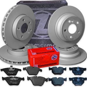 Ford S-Max (WA6)  2,0-TDCI komplett Bremsen Satz Bremsscheiben Beläge Zimmermann