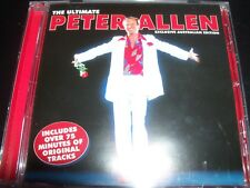 Peter Allen The Ultimate (Australian Edition) Best Of Greatest Hits CD - NEW