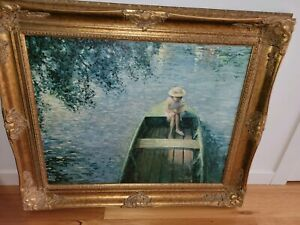 Impressionist Art Henri Lebasque Oil on canvas
