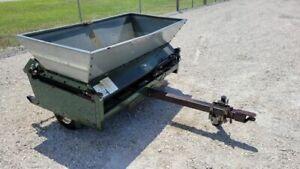 Turfco Mete-R-Matic III Tow Behind Topdresser Model 85423 Drop Sand Spreader