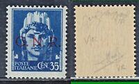 ITALIA 1944 G N R Tiratura VERONA  0,35c  MNH** FIRMATO CAFFAZ + altre FIRME