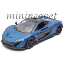 MOTORMAX 79508 MCLAREN P1 1/24 DIECAST MODEL CAR SATIN BLUE