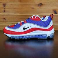 Nike Air Max 98 Psychic Purple/University Red/White AH6799-501 Women's Shoes