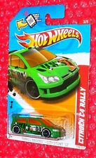 2012 Hot Wheels Citroen C4 Rally #198 Thrill Racers  V5502-09QRE   scan logo