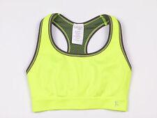 (2-PACK)Danskin Now. Women's Reversible Sports Bra. Green / Grey . Small