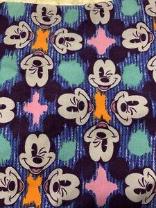 NWT LuLaRoe Disney Leggings One Size OS Winking Mickey Mouse Multi Colored
