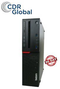 Lenovo ThinkCentre M900 SFF Intel Core i5-6500 8GB RAM 1TB HDD Windows 10 Pro