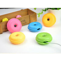 Turtle Cable Cord Organizer Wrap Wire Winder Earphone Headphone Holder KW