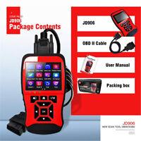 EOBD OBD2 CAN Red Car Scanner Engine Diagnostic Fault Code Reader Scanning Tool