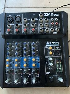 Alto Professional ZMX862 6-channel, 2-bus audio mixer