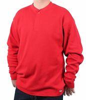Case IH Men's Heavy Cotton-Blend Thermal Henley Shirt