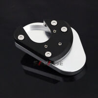 Side Kickstand Stand Extension Plate For KAWASAKI KLE 650 VERSYS 2007-2020