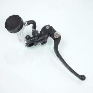 Maître cylindre de frein avant radial type PR19 noir avec levier et bocal