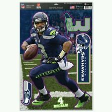 RUSSELL WILSON SEATTLE SEAHAWKS Multi-Use Decals 11x17 Just LIKE a Fathead!