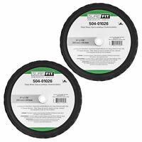 "MTD Surefit Pneumatic Front Wheel 9X3.50-4 Universal 504-00299 3//4/"" x 3.5/"" hub"