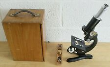 Vintage Beck Of London Microscope With Locking Carry Case (Hospiscare)