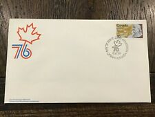 Canada Fdc # 691 Benjamin Franklin Brand New 1976 Unaddressed Issue
