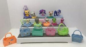 McDonald's Happy Meal Littlest Pet Shop LOT 16 Pc Pets & Accessories Toys LPS