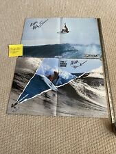 ** ANDY & BRUCE & PHIL IRONS SIGNED POSTERS SURFING CHAMPION **