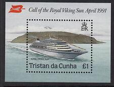 TRISTAN DA CUNHA:1991 Visit of Royal Viking Sun m/sheet SG MS513 unmounted mint