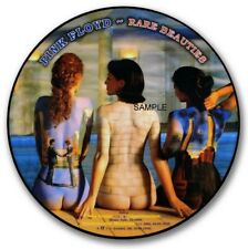 """PINK FLOYD RARE BEAUTIES VINYL STICKER 100MM  4"""",LP SIZE, MORE LISTED QUALITY"""