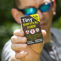 Tiny Survival Guide: EDC Wallet Sized - 175 Tips, 67 Skills, 101 Illustrations