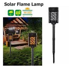 96 LED Solar Power Flame Lamp IP65 Waterproof Landscape Garden Path Lighting