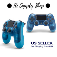 PlayStation 4 Dualshock 4 Wireless Controller - Crystal Blue (PS4)