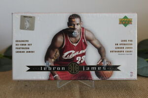 2003-04 Upper Deck LEBRON JAMES Rookie Sealed Box Set 32 Card - Possible Auto