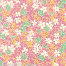 MODA Fabric ~ 30's PLAYTIME ~ Chloe's Closet (33040 20) Pink - by 1/2 yard