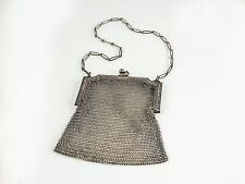 Whiting & Davis Art Deco Mesh Change Purse, 20's — Chic. Stylish. High Fashion.