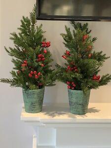 John Lewis Miniature Artificial Christmas Trees